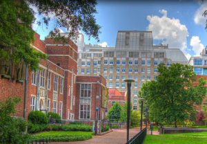 Der Campus der Vanderbilt University in Nashville, Tennessee