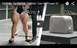 cyclist vs toaster